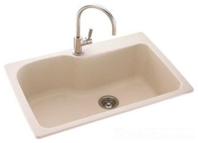 Swanstone Kssb 3322 122 Green Prairie Drop Kitchen Sink