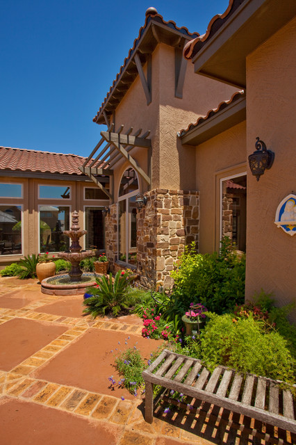 Tuscan Style Home By Jim Boles Custom Homes - Mediterranean