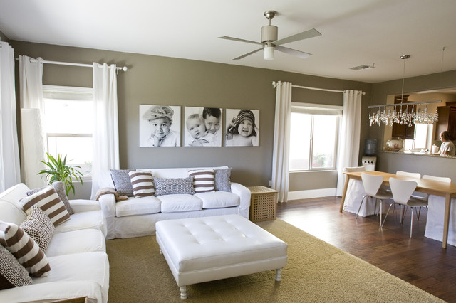 18 Ways to Make a Small Space Look Larger - how to make a small living room look bigger