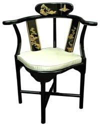 Chinese Ming Corner Chair - Contemporary - Armchairs and ...