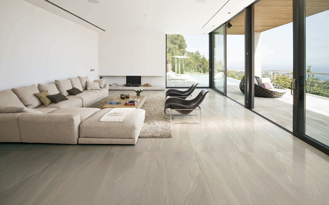 Home - Modern - Living Room - San Diego - by VersaTile Surfaces - tile living room floors