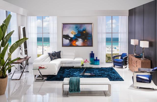 Sparta Modern Room - Modern - Living Room - Miami - by El Dorado - el dorado living room sets