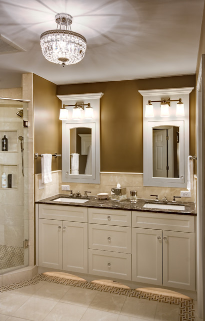 Traditional Bathrooms Elegant Master Bathroom - Traditional - Bathroom