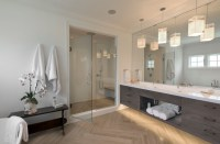 Modern Farmhouse Master Bathroom - Modern - Bathroom - New ...