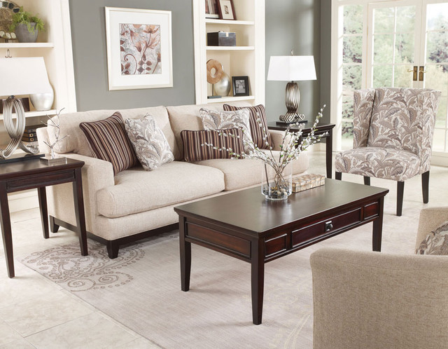 Living Room Furniture Collections - Contemporary - Living Room - contemporary living room furniture