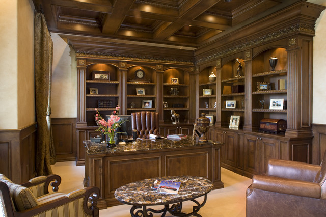 Home Office Traditional Home Office Las Vegas By