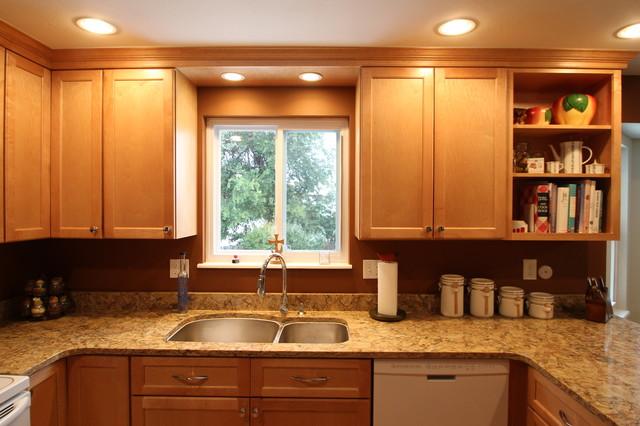 small kitchen conversion transitional kitchen inspiration small transitional shaped kitchen remodel