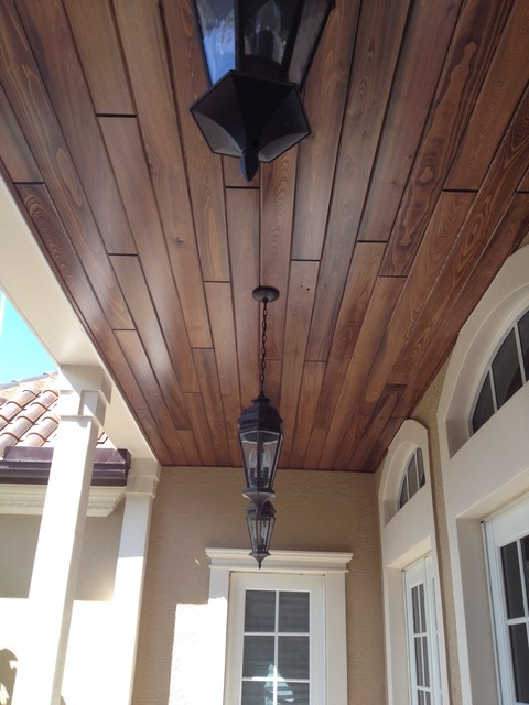 Tongue & Groove Ceiling Level 1
