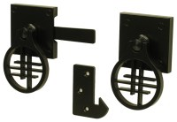 Contemporary Asian Inspired Gate Latch - Asian - Home ...