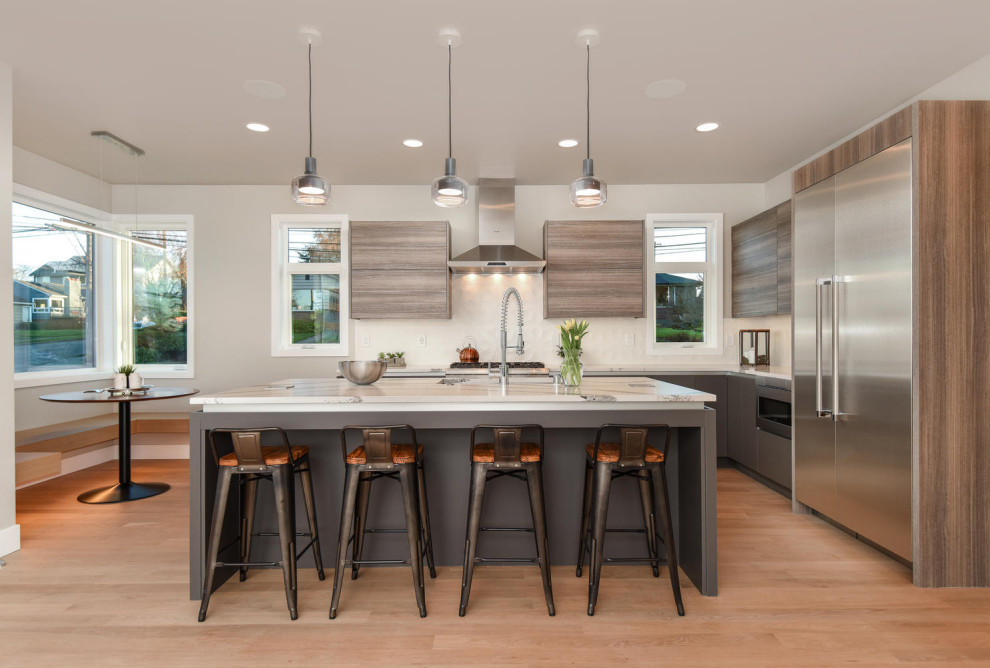 Magnolia Contemporary Kitchen Seattle By Rd Homes