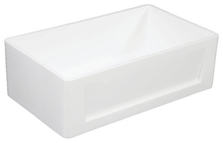 Gkfa301810sq Solid Surface Farmhouse Single Bowl Kitchen