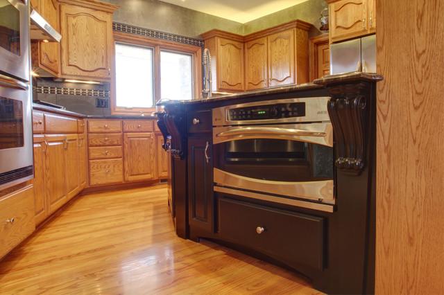 lakehouse remodel modern kitchen omaha hurt construction kitchens design omaha home