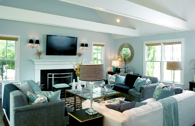 Mary Prince © 2012 Houzz - Traditional - Living Room - Boston - by - houzz living room furniture