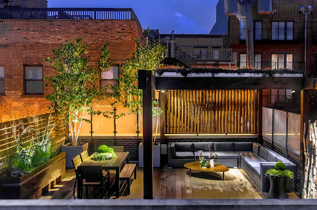 Meuble Chicago Chicago Wicker Park Garage Rooftop Deck - Contemporain