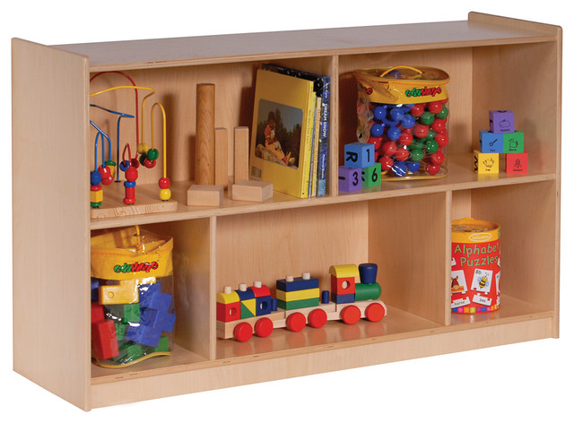 Mobile Toy Storage Cabinet Contemporary Toy Organizers
