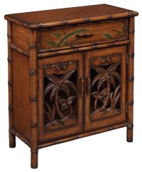 One Drawer Two Door Cabinet - Tropical - Accent Chests And ...