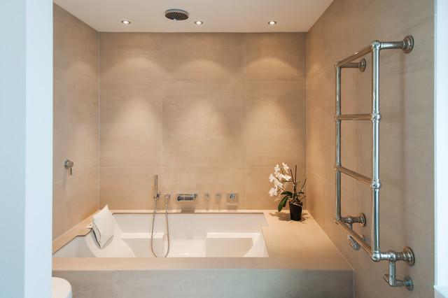 Das moderne badezimmer wellness design  Das Moderne Badezimmer Wellness Design. badewanne mit whirlpool ...