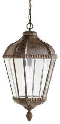 Iron Pendant Lantern - Traditional - Pendant Lighting - by ...