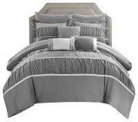 Cheryl 10-Piece Comforter Set - Transitional - Comforters ...