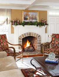 Woodland, Bucks County Pa - Traditional - Living Room ...