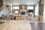 Modern Farmhouse Family Room Interior Design