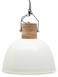 Ambient Off-White Large Pendant Light - Industrial ...