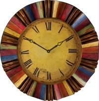 Multicolor Wall Clock - Farmhouse - Wall Clocks - by ...