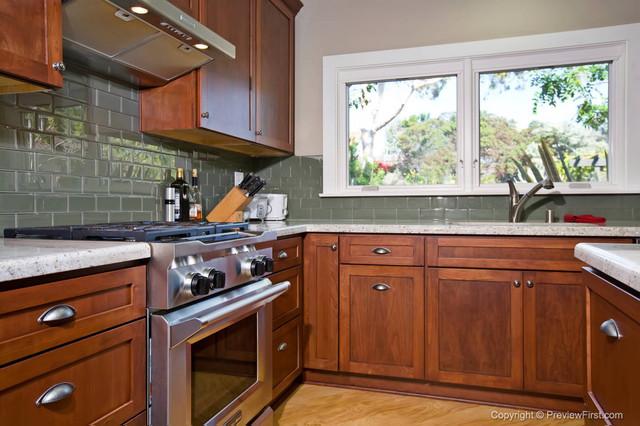 Craftsman Style Kitchen Bonita - Traditional - Kitchen - San Diego