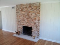 Old Brick Fireplace Re-Facing - Traditional - Chicago - by ...
