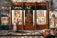 Galerie and Boulangerie Wall Mural - Traditional - Wall ...