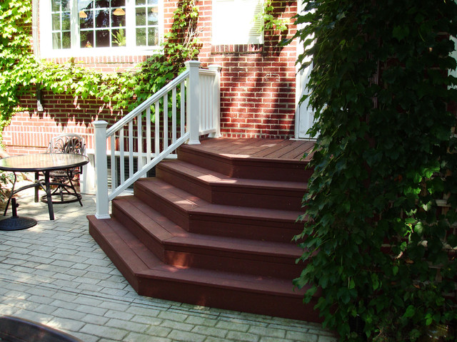 Chicago General Contractors New Lenox Composite Stairs