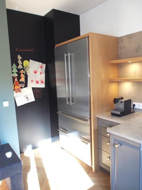 Awesome Küche Mit Side By Side Kühlschrank Gallery - Ideas - kuhlschrank finden tipps trendsetter kuche