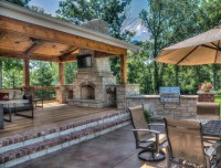Outdoor Living Rooms - Traditional - Patio - St Louis - by ...