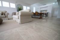 Cashmere Marble Flooring - Contemporary - Living Room ...