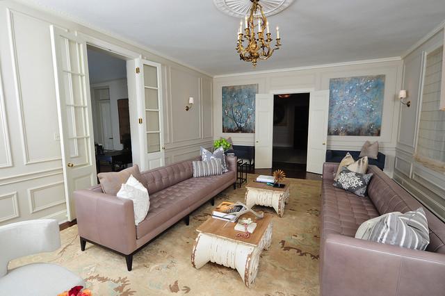 Modern Elegance Living Room - Modern - Living Room - DC Metro - elegant living rooms