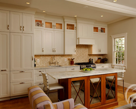 small transitional single wall kitchen design ideas remodels photos inspiration small transitional single wall eat kitchen
