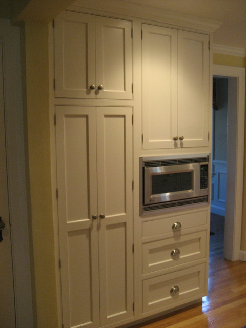 Pantry And Microwave