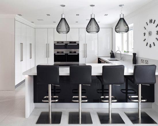 contemporary shaped eat kitchen design ideas remodels photos small shaped eat kitchen design ideas remodels photos