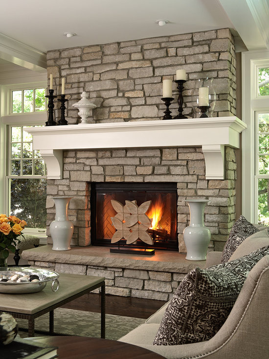 Fireplace Wohnzimmer Kamin Pinterest Mantels, Mantle and Stone