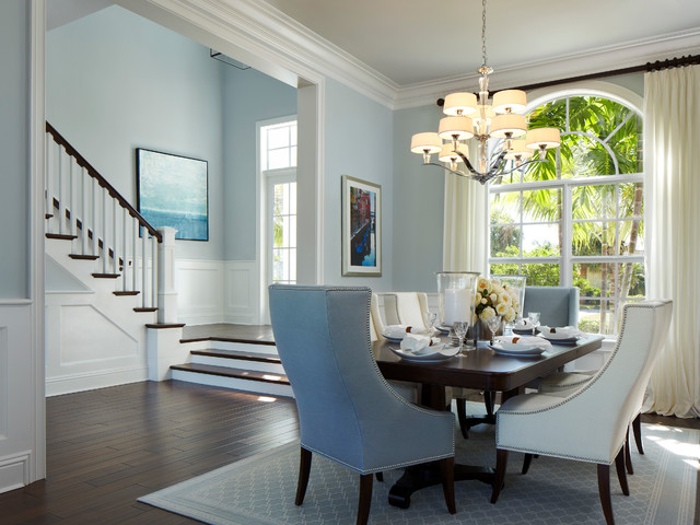 Delray Beach Key West Style - Tropical - Dining Room - Miami - by - key west style home decor