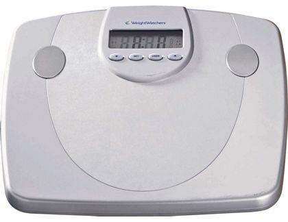 Weight watchers precision body analyser scales bathroom