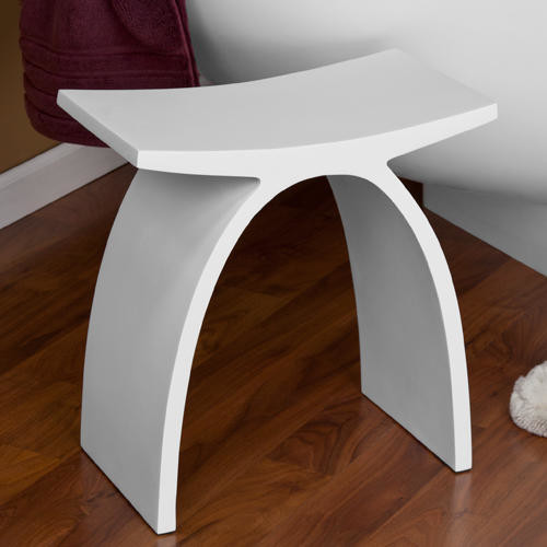 Modern Bathroom Vanity Chairs bathroom vanity stool or bench