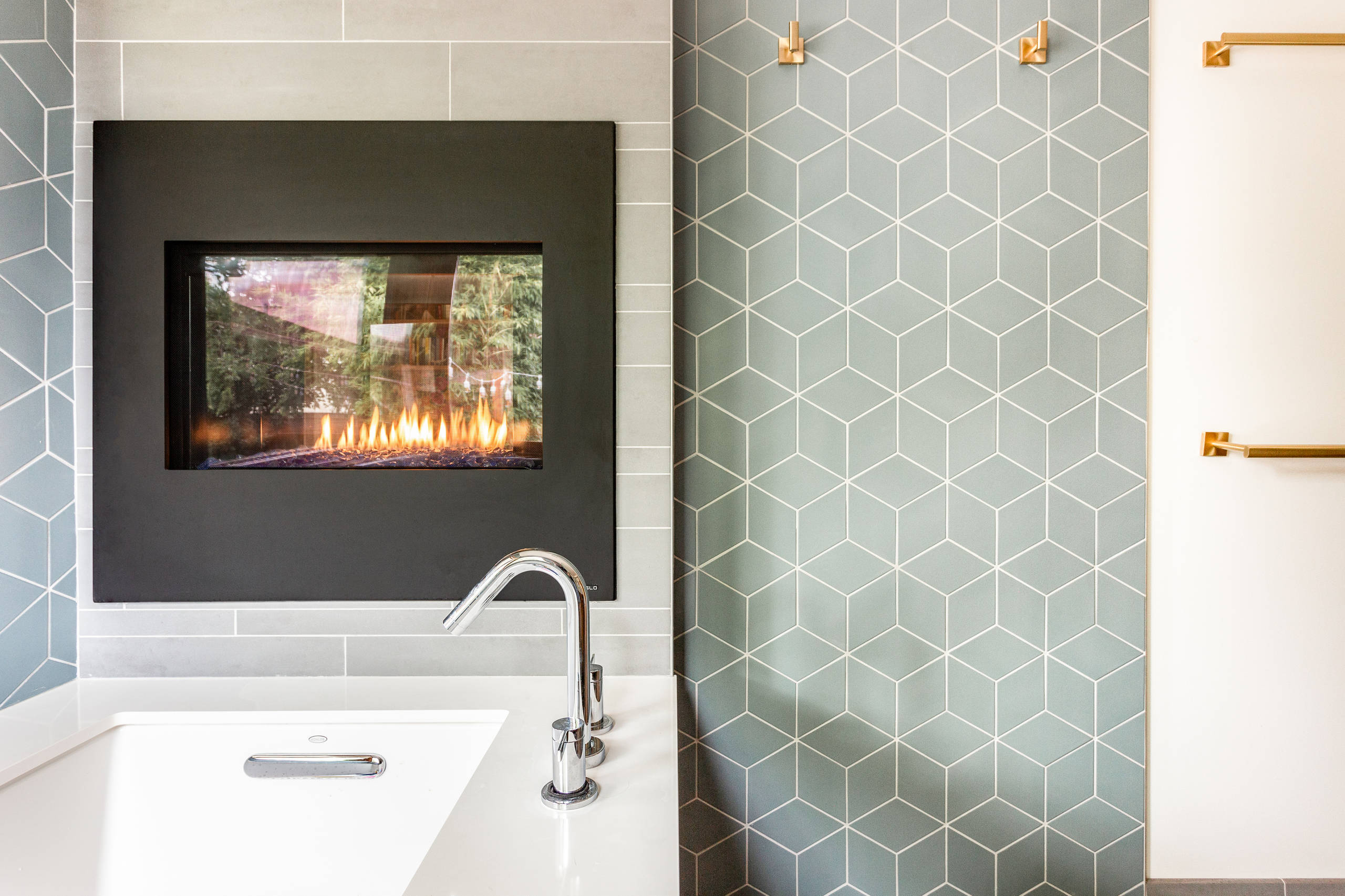 Badezimmer Blue Pearl 75 Beautiful Midcentury Modern Wet Room Pictures Ideas Houzz
