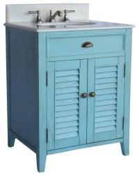 "Abbeville 26"" Vanity Cf28323Lb - Beach Style - Bathroom ..."