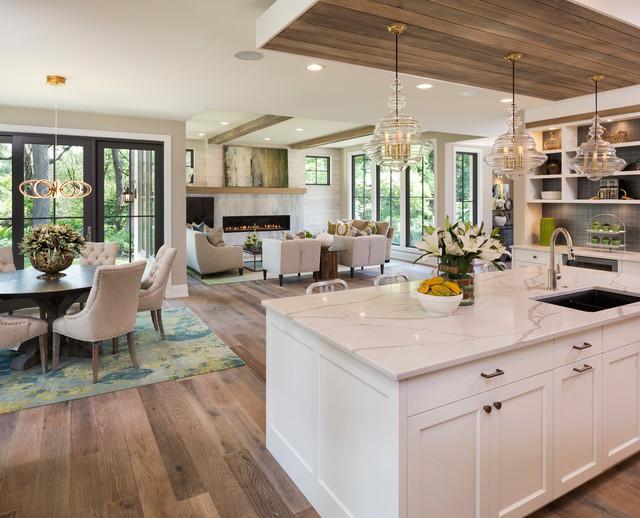 2016 Artisan Home Tour - Transitional - Kitchen - Minneapolis - by - transitional kitchen design
