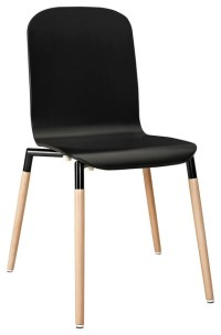 Stack Wood Dining Chair - Contemporary - Dining Chairs ...