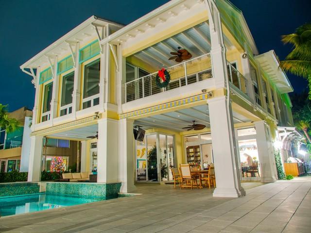 Intracoastal Key West Style Custom House - Tropical - Exterior