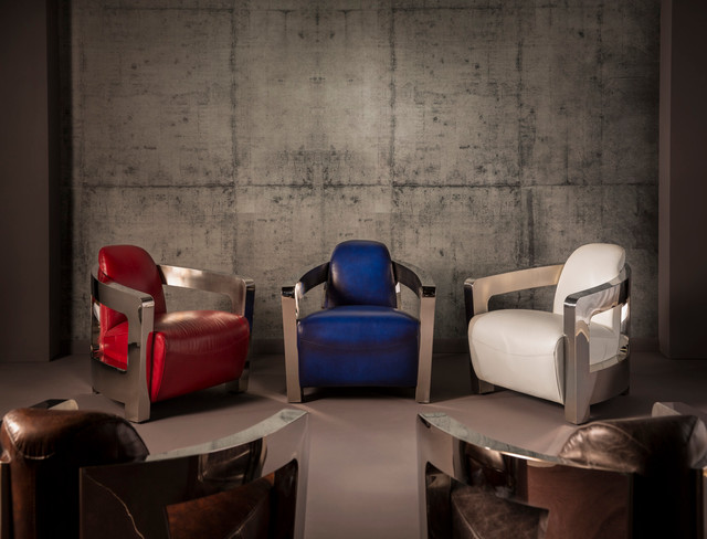 Aviator Accent Chair - Modern - Living Room - Miami - by El Dorado - el dorado living room sets