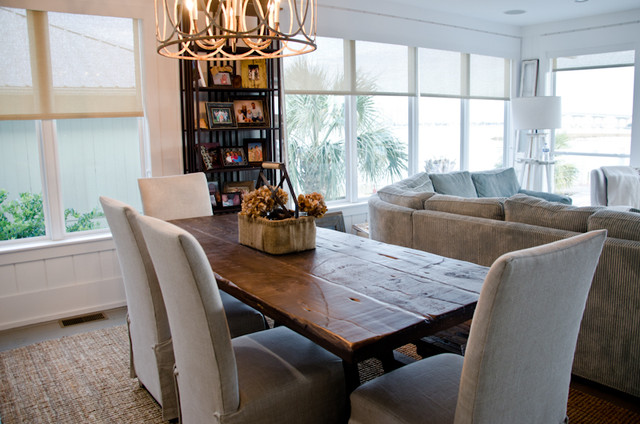 Sofas For Sale Birmingham Reclaimed Dining Table/ Oba Project - Beach Style - Dining