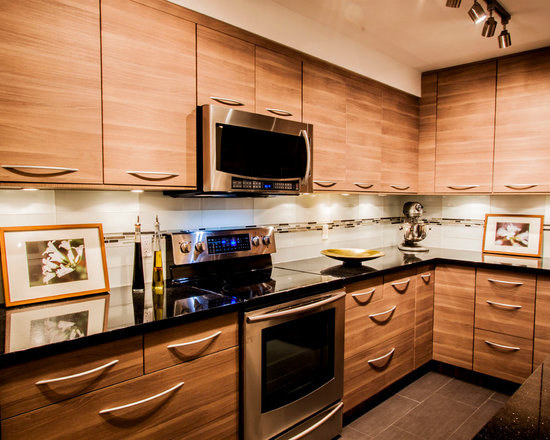 small shaped kitchen design photos stainless steel small contemporary shaped eat kitchen idea moscow flat